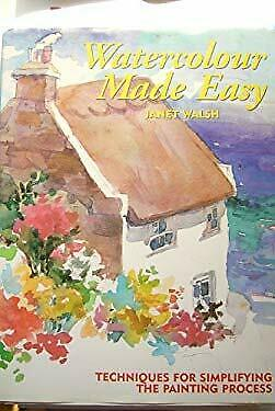 Watercolour Made Easy by Walsh, Janet-ExLibrary