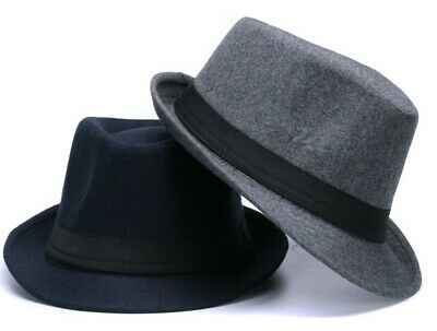 FREE GIFT Gentleman Woolen Jazz Church Cap Hat Women Men Fedora Gangster Mafia
