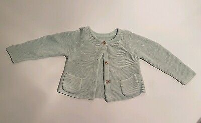 Girls M&S cardigan 9-12 Months