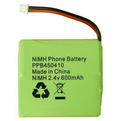 Genuine PPB450410 Phone Battery NiMH 2.4V 600mAh for BT Verve 450 410 Cordless