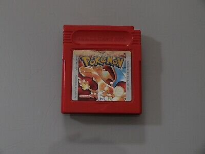 Pokemon Version Rouge Loose Nintendo Game Boy