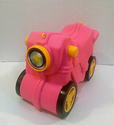 Pull Along Ride On Kids Pink Car Suitcase by Molto HTF!