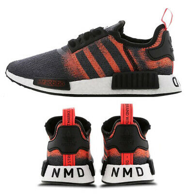 New Red Solar Adidas Nmd Sizes R1 Sneaker Black Mens All Gray XiOkuPZ