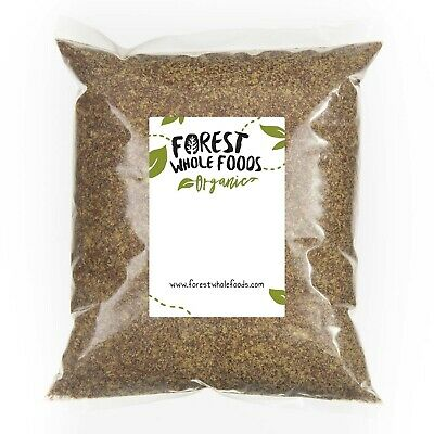 Forest Whole Foods - Organic Ground Flaxseed (Linseeds Flax Seeds) 1kg