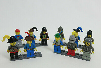 11 Lot Vintage Lego Castle Forestmen Knights Mini Figures Extras