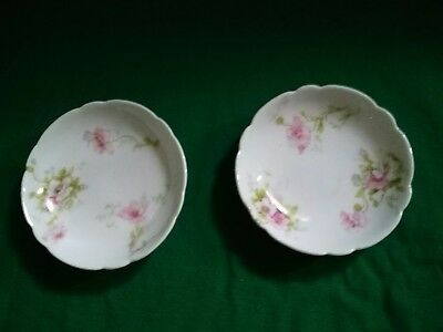 Antique Theodore Haviland China Limoges France Patent Applied For Butter Pats
