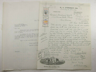 1933 Lamson Goodnow H A Anderson Firnley & Shields Youngstown OH Ephemera P809D