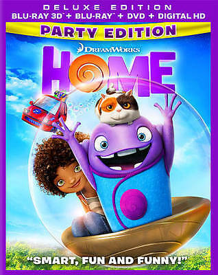 Home   *3D & 2D* Brand New (Blu-ray/DVD, 3-Disc Set 2015, Party Edition)