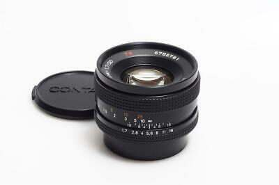 Carl Zeiss f. Contax     Yashica Planar 1.7/50mm T*