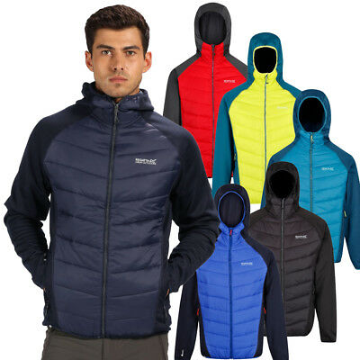 Regatta Mens Andreson IV Hybrid Water Repellent Jacket