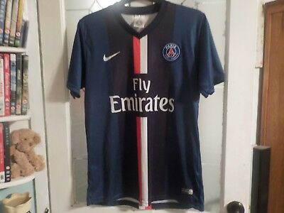 Paris Saint-Germain home shirt medium adult, 10, Ibrahimovic, non authentic.2014