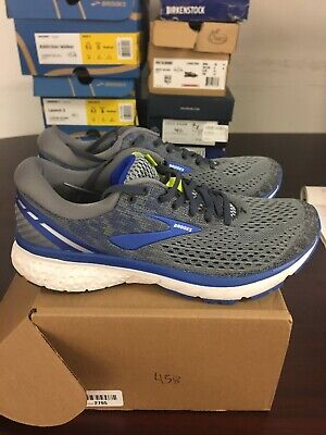 a4fe888e5a1e9 Brooks Men s Ghost 11 Athletic Running Sneaker grey blue Silver Size 8.5 D  458