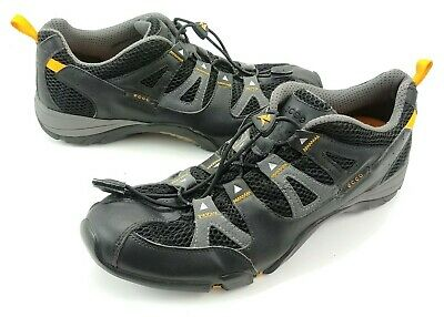 0013af1acdd92 Ecco Receptor Mens Hiking Trail Shoes Black EU size 44 US 10-10.5 Speed  Laces