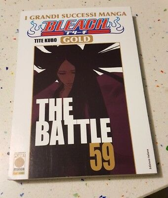 Fumetto Planet Manga Bleach Gold 59 The Battle Tite Kubo Nuovo