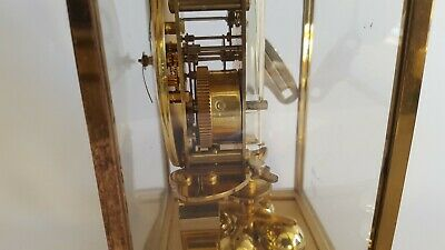German brass Kundo  anniversary clock