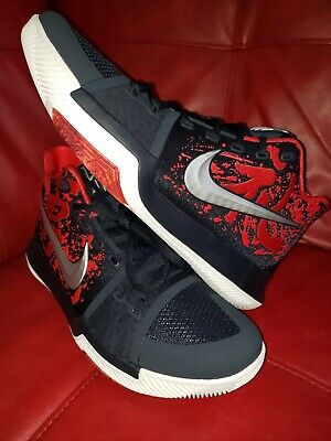 06d7f963b27 Nike Kyrie 3 Samurai Christmas Mystery Release QS Size 10.5 852395-900  Brand New