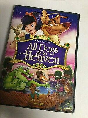 All Dogs Go to Heaven (DVD,2010) Not a Scratch!! USA!!