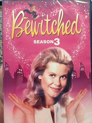 Bewitched - The Complete Third Season (DVD, 2006, 3-Disc Set)-BRAND NEW-SEALED