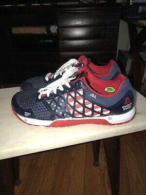 Reebok Crossfit CF74 Men s Shoes USA Flag Athletic Running Lace Up 023501  Sz 12 6679c74a2