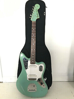 Cij Fender Jaguar Guitar An Seafoam Green Car