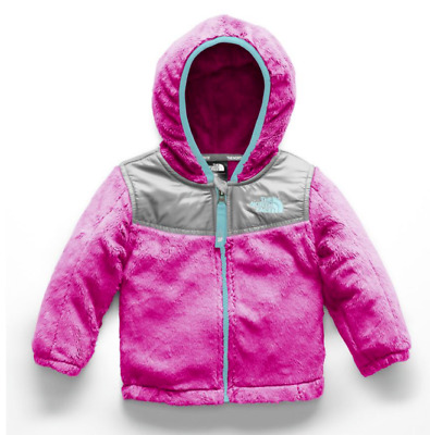 8c12bf1db67f The North Face INFANT  TODDLER OSO HOODIE FLEECE Jacket Girls  65-80 PINK  PURPLE