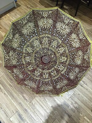 indian wedding umbrella parasol