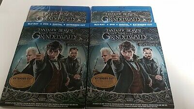 Fantastic Beasts the crimes of Grindelwald Bluray