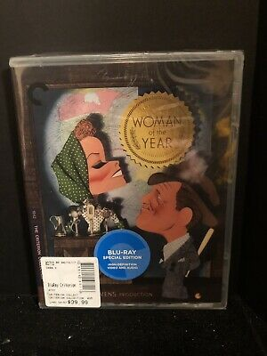 Woman of the Year (Criterion Collection) [New Blu-ray] Restored, Special Edition