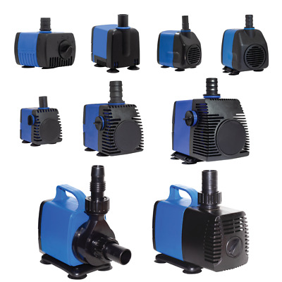90-1450 GPH Submersible Aquarium Fish Tank Fountain Water Pump