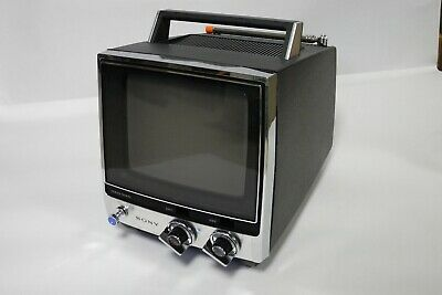 SONY TV-760 Vintage Portable Black and White Television