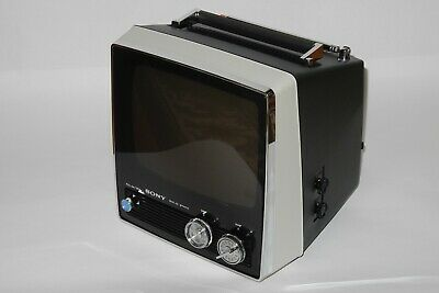 SONY TV-950 Vintage Portable Black and White Television