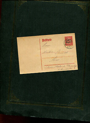 Germany Free State Bavaria printed card MUNCHEN-TRIER