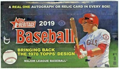 2019 Topps Heritage Baseball Complete Your Set Pick 25 Cards From List