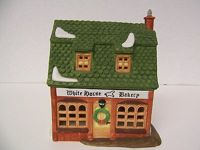 "Dept 56 ""White Horse Bakery"" Heritage Collection Dickens Village Series #5926-9"