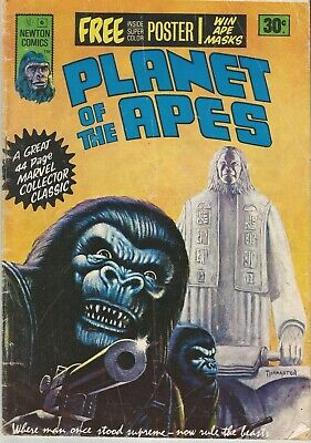 Planet of the Apes #6 comic from the 70's