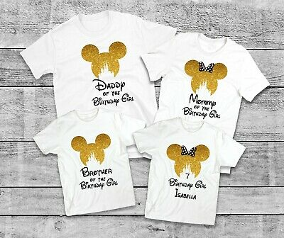 Mickey Mouse Birthday Minnie ShirtDisney Family Shirts Matching