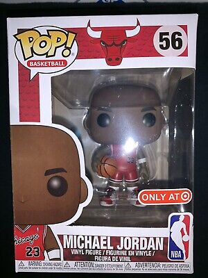 Funko Pop! Michael Jordan Target Exclusive #23 Rookie Jersey Bulls NBA