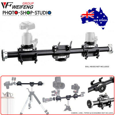 AU STOCK * Weifeng WT628 Professional Tripod Boom (Mount 2-4 Cameras)