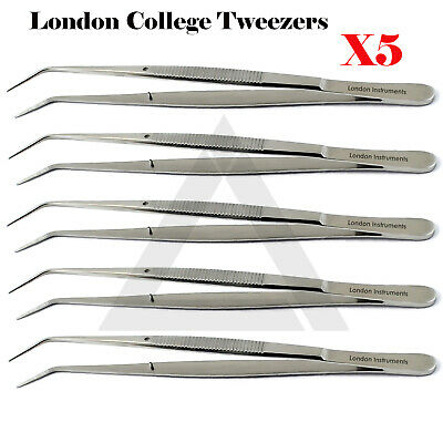 London Collage Tweezers Cotton & Dressing Forceps Tissue Pliers Surgical Tools