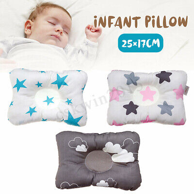 Newborn Baby Infant Pillow Sleeping Anti-Roll Prevent Neck Head Support Cushion