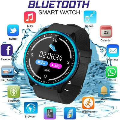 Bluetooth Smart Wrist Watch  GSM Phone For Android Samsung iPhone Man Women P69