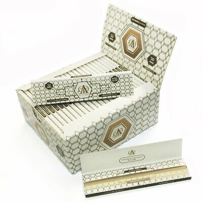 AU*HENTIC HEMP Rolling Papers 108*45mm 50 Booklets=1600 leaves smoking