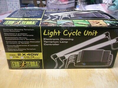 EXO TERRA light cycle unit takes up to 40w bulb