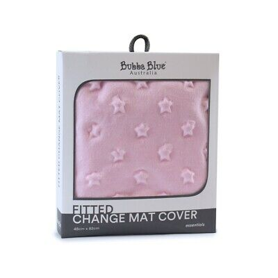 Bubba Blue Essentials - Sherpa Change Pad Cover - Pink