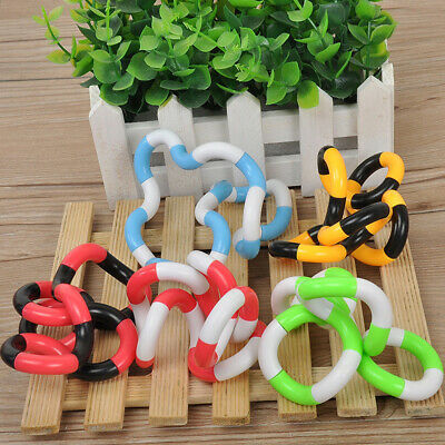Tangle Fidget Relax Therapy Fiddle Stress ADHD Autism Sensory Toy Random Color