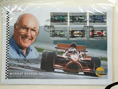 Gb Westminster Autographed Editions Grand Prix Signed By Murray Walker
