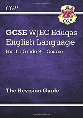 GCSE English Language WJEC Eduqas Revision Guide by CGP Books New Paperback Book