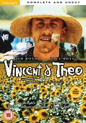 VINCENT AND THEO. Tim Roth, Paul Rhys. New sealed DVD.