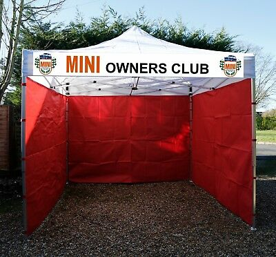 UK EXPO 3x3m COMMERCIAL GRADE HEAVY DUTY POPUP GAZEBO MARKET STALL MARQUEE +sign