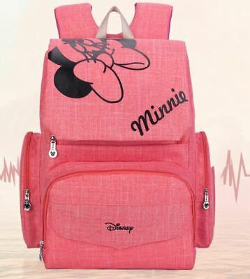 Disney Mickey Minnie Baby Diaper Bags Bolso Maternal Stroller Bag Nappy Backpack